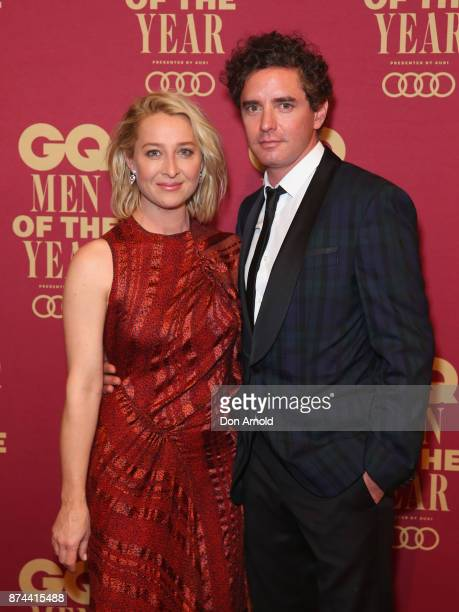 Asher Keddie and Vincent Fantauzzo attend the GQ Men Of The Year Awards at The Star on November 15, 2017 in Sydney, Australia.