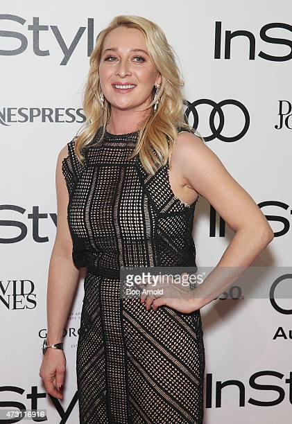 Asher Keddie arrives at the 2015 Women Of Style Awards at Carriageworks on May 13 2015 in Sydney Australia