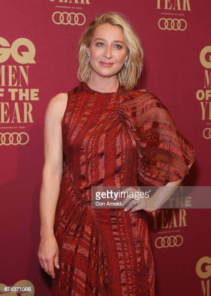 Asher Keddie attends the GQ Men Of The Year Awards at The Star on November 15 2017 in Sydney Australia