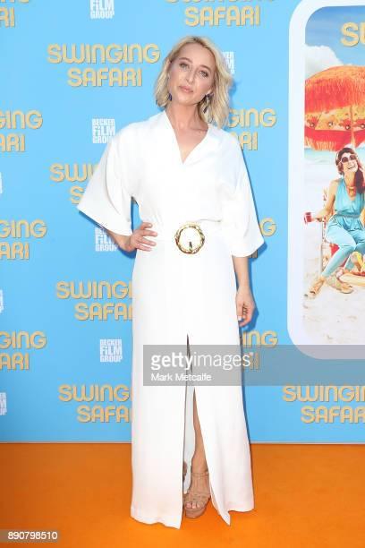 Asher Keddie attends the world premiere of Swinging Safari on December 12 2017 in Sydney Australia