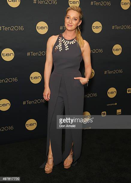 Asher Keddie poses at The Star during the Network 10 Content Plan 2016 event on November 19 2015 in Sydney Australia