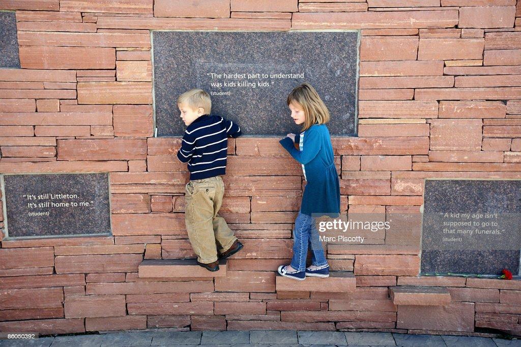 Columbine HS Massacre Remembered Ten Years Later : News Photo