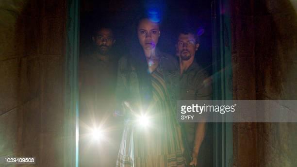 DOOR Ashes On My Pillow Episode 201 Pictured Brandon Scott as Tom Hodgson Maria Sten as Jillian Hope Hodgson Nicholas Tucci as Jason