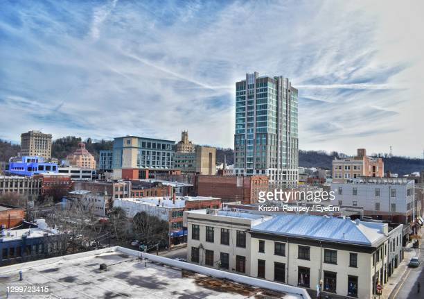 asheville city - asheville stock pictures, royalty-free photos & images