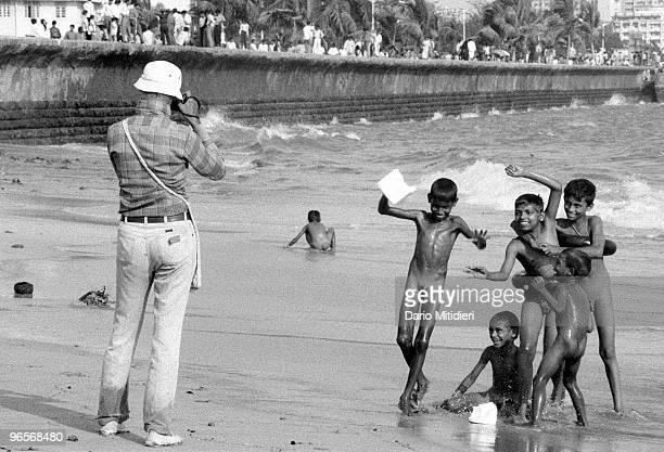 Ashfak a pedophile who regularly visits Chowpatti beach soliciting street children