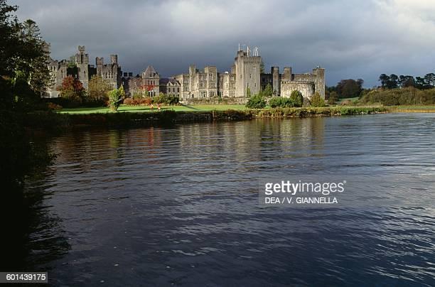 Ashford Castle now hotel on Lake Corrib County Mayo Ireland