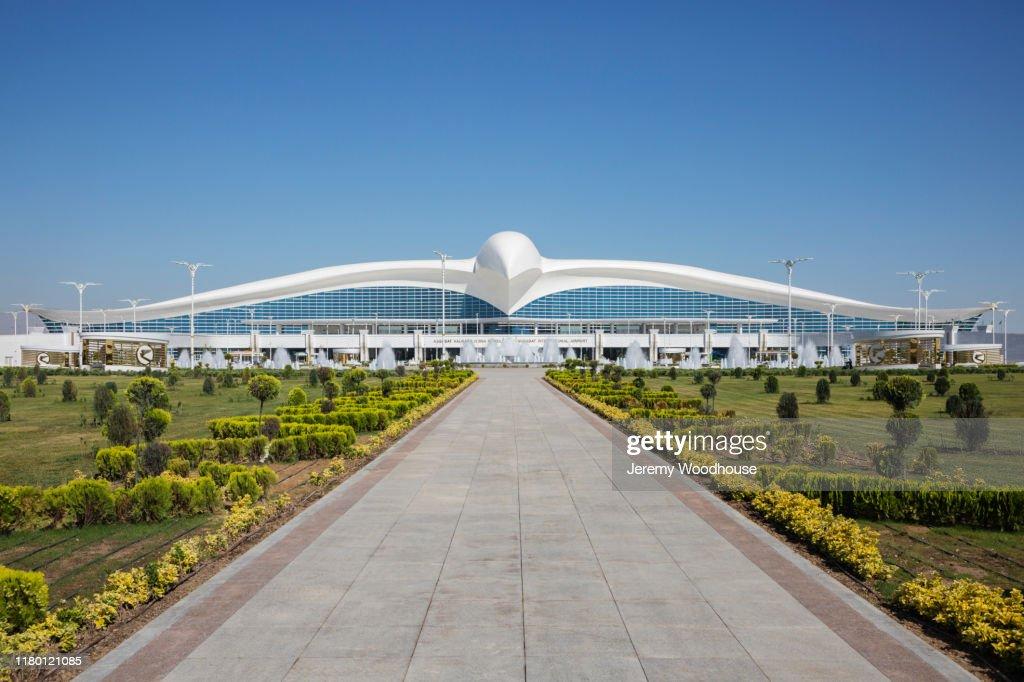 Ashgabat International Airport : Stock Photo