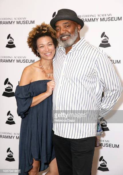Ashia Duprey and Michael Mauldin attend A Conversation With Jermaine Dupri Friends at the GRAMMY Museum on September 20 2018 in Los Angeles California