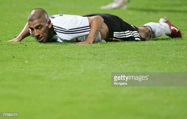 Ashkan Dejagah of Germany after a missed chance during the Men's U20 international friendly match between Germany and Austria at the GuentherVolker...