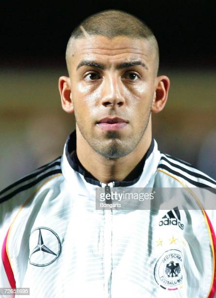 Ashkan Dejagah of Germany before the Men's U20 international friendly match between Germany and Austria at the Guenther-Volker Stadium on November...