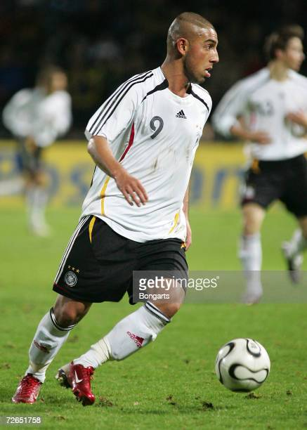 Ashkan Dejagah of Germany in action during the Men's U20 international friendly match between Germany and Austria at the Guenther-Volker Stadium on...