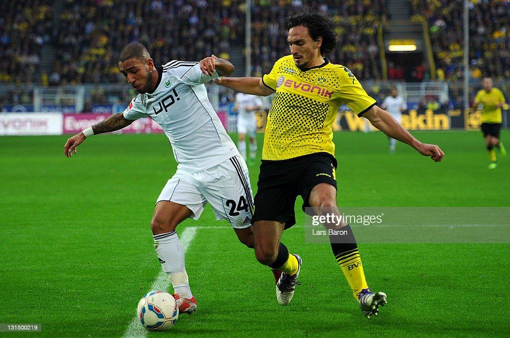 Borussia Dortmund v VfL Wolfsburg  - Bundesliga : Nachrichtenfoto