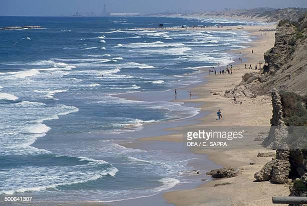 Ashkelon beach, Israel.