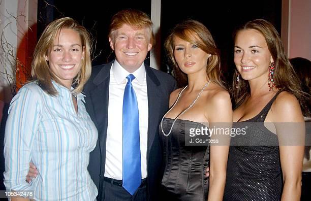 Ashlan McKain Donald Trump Melania Knauss and Vanessa Haydon