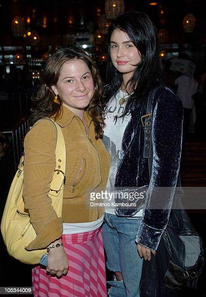 """Ashlee Margolis and Aimee Osbourne during """"The Brown Bunny"""" New York Premiere - After Party at Maritime Hotel in New York City, New York, United..."""