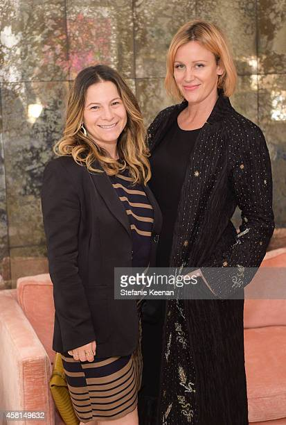 Ashlee Margolis and Ali Taekman attend the Irene Neuwirth Flagship Grand Opening on October 30 2014 in West Hollywood California
