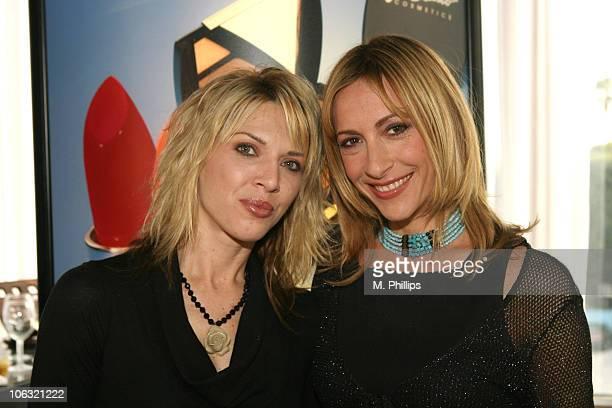 Ashlee Petersen Callahan and Judi Beecher at Joe Blasco Cosmetics
