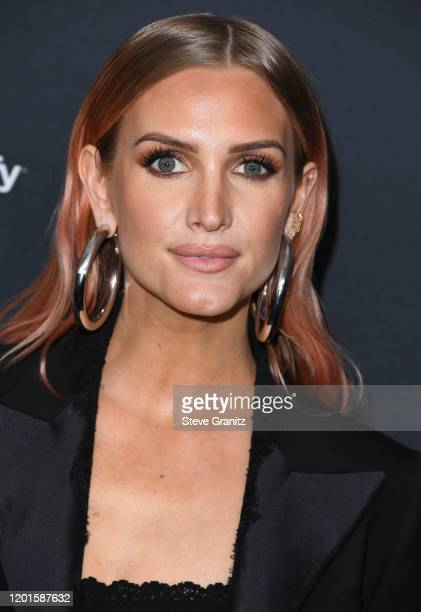 Ashlee Simpson arrives at the Spotify Best New Artist 2020 Party at The Lot Studios on January 23, 2020 in Los Angeles, California.