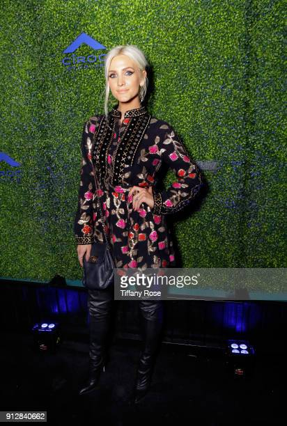 Ashlee Simpson at CIROC Studios Launch Event hosted by DJ Khaled at the iconic Record Plant Studios on January 31 2018 in Hollywood California