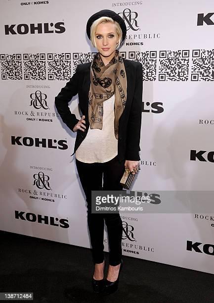 Ashlee Simpson at Hammerstein Ballroom on February 10, 2012 in New York City.