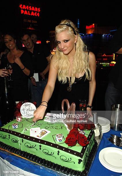 Ashlee Simpson at PURE Nightclub during Ashlee Simpson's 21st Birthday at PURE Nightclub at Caesars Palace in Las Vegas at Private in Las Vegas,...