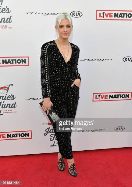 Ashlee Simpson at Steven Tyler and Live Nation presents Inaugural Janie's Fund Gala GRAMMY Viewing Party at Red Studios on January 28 2018 in Los...