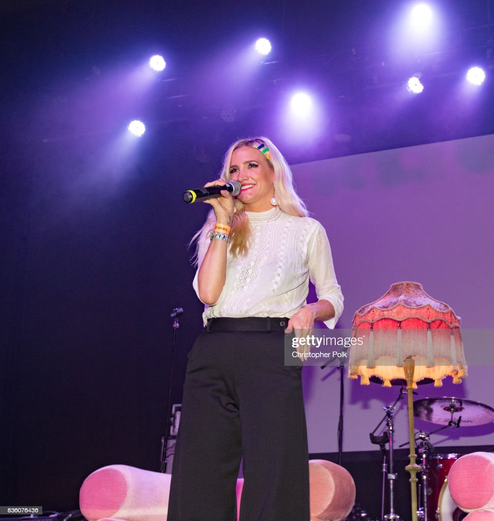 Ashlee Simpson at The Fonda Theatre on August 20, 2017 in Los Angeles, California.