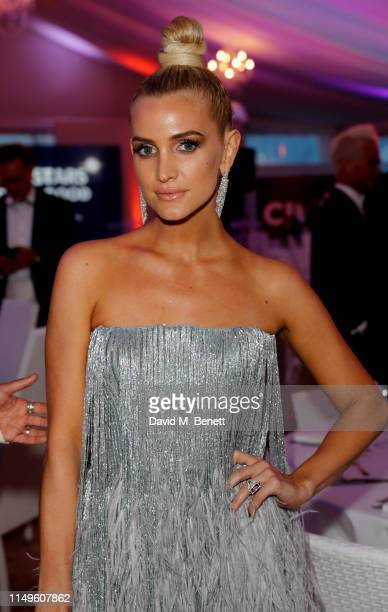 Ashlee Simpson attends CINEMOI STARS UNITED FOR GOOD to raise funds for the Children Uniting Nations organisation at La Plage 45 on May 16 2019 in...