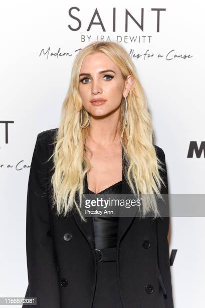 Ashlee Simpson attends Ira and Bill DeWitt's Saint candle launch benefiting St. Jude Children's Research Hospital at MR CHOW on June 12, 2019 in...