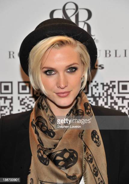 Ashlee Simpson attends Rock & Republic For Kohl's during Fall 2012 Mercedes-Benz Fashion Week at Hammerstein Ballroom on February 10, 2012 in New...