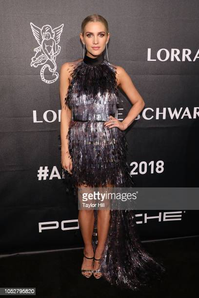 Ashlee Simpson attends the 2018 Angel Ball at Cipriani Wall Street on October 22 2018 in New York City