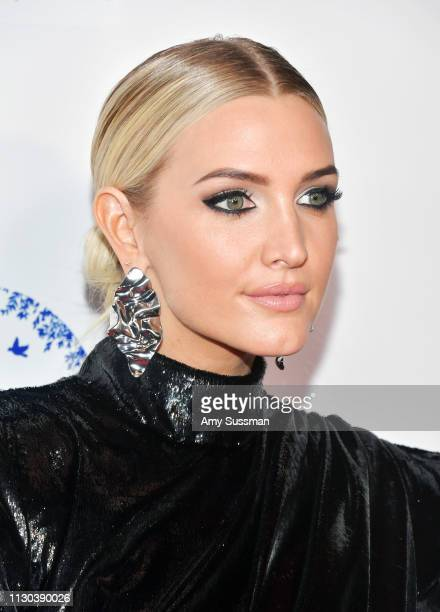 Ashlee Simpson attends the 2019 Hollywood Beauty Awards at Avalon Hollywood on February 17 2019 in Los Angeles California