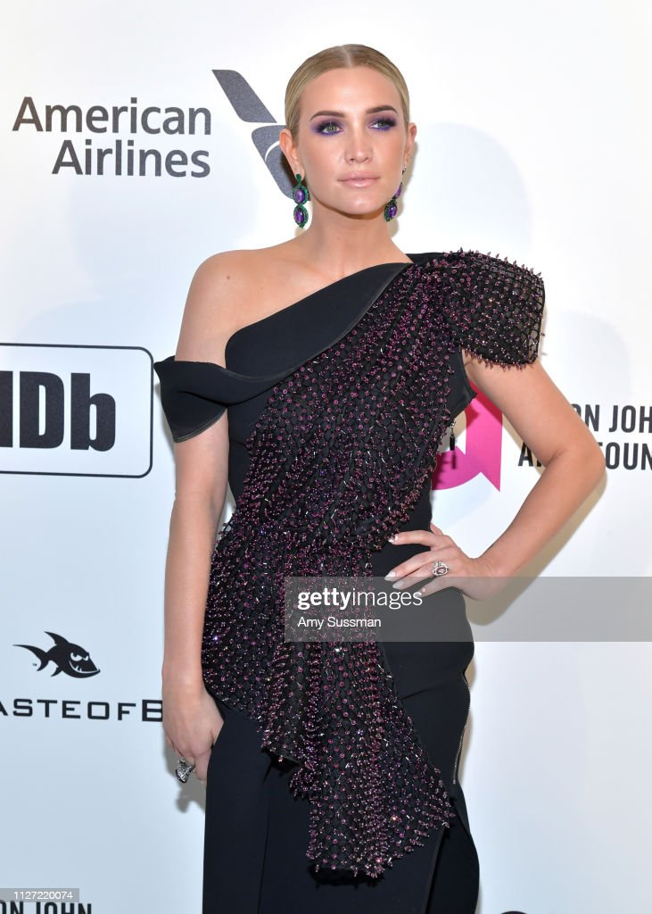 27th Annual Elton John AIDS Foundation Academy Awards Viewing Party Celebrating EJAF And The 91st Academy Awards - Arrivals : News Photo