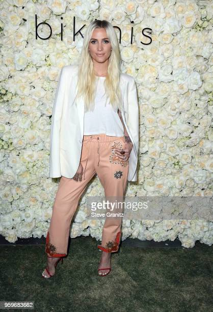 Ashlee Simpson attends the Gigi C Bikinis PopUp Launch Event at The Park at The Grove on May 17 2018 in Los Angeles California