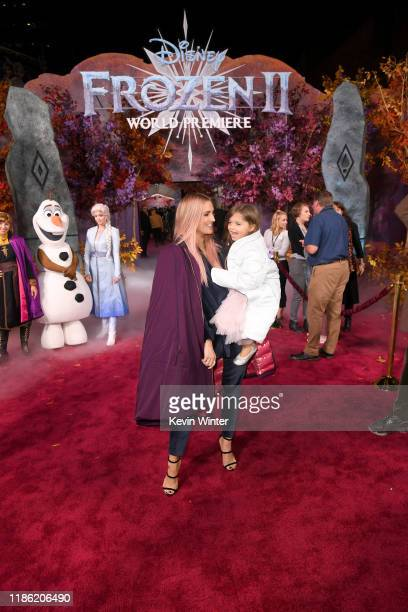 Ashlee Simpson attends the premiere of Disney's Frozen 2 at Dolby Theatre on November 07 2019 in Hollywood California