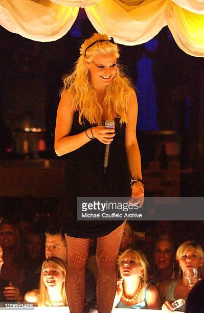 Ashlee Simpson celebrates her 21st birthday at PURE Nightclub