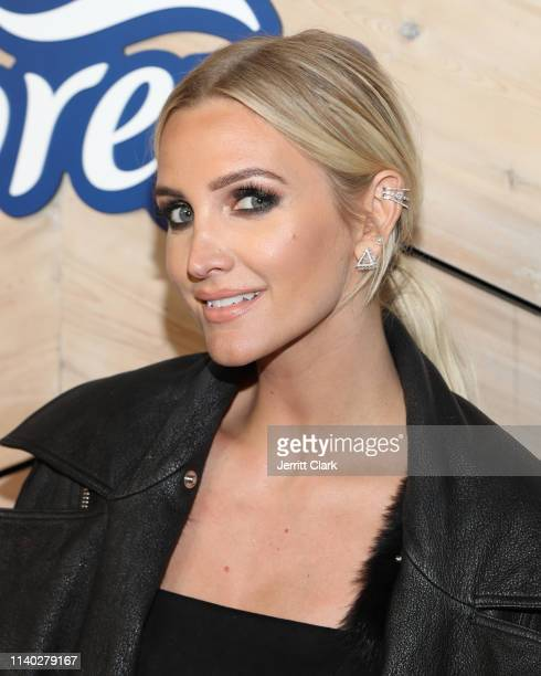 """Ashlee Simpson Celebrates The Launch Of """"The Freshness"""" By Febreze at Poppy on April 03, 2019 in Los Angeles, California."""