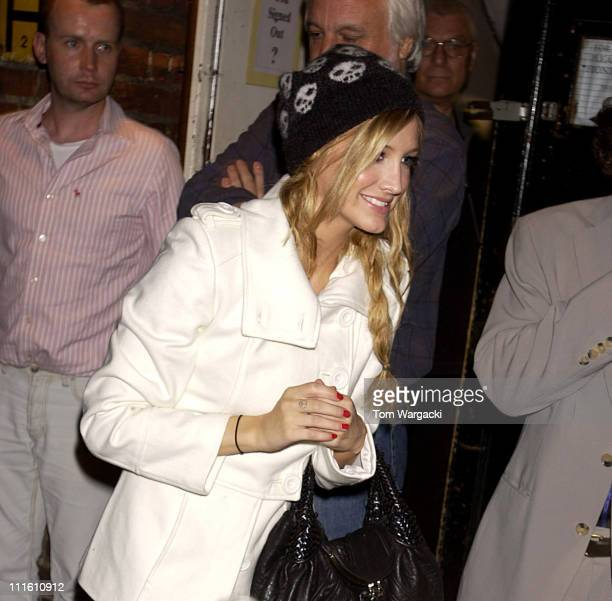 Ashlee Simpson during Ashlee Simpson at Cambridge Theatre for Her Appearance in Chicago at Cambridge Theatre in London Great Britain