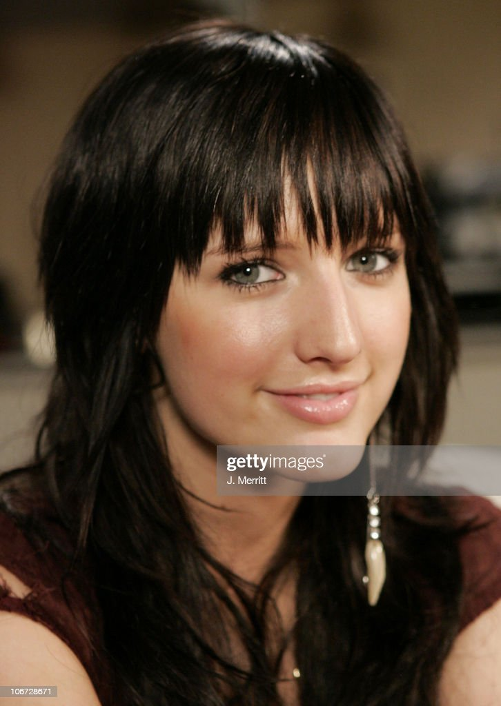 Ashlee Simpson at Home