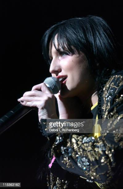 Ashlee Simpson during Ashlee Simpson in Concert at the Hammerstein Ballroom in New York City - March 15, 2005 at Hammerstein Ballroom in New York...