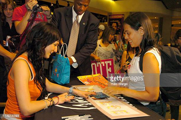 Ashlee Simpson during Ashlee Simpson Signs Copies of her New CD 'Autobiography' at Virgin Megastore Times Square in New York City New York United...