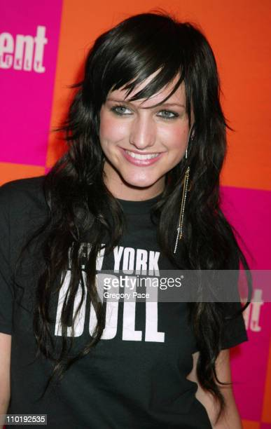 Ashlee Simpson during Entertainment Weekly's Celebration of The Must List The 137 People Things We Love This Summer Issue Arrivals at CroBar in New...