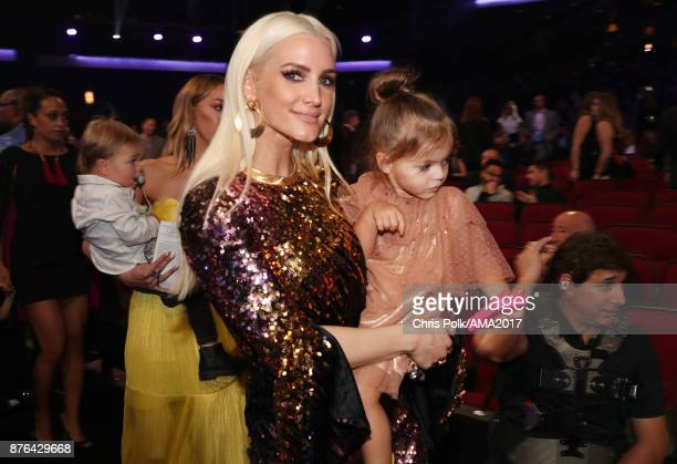 Ashlee Simpson during the 2017 American Music Awards at Microsoft Theater on November 19 2017 in Los Angeles California