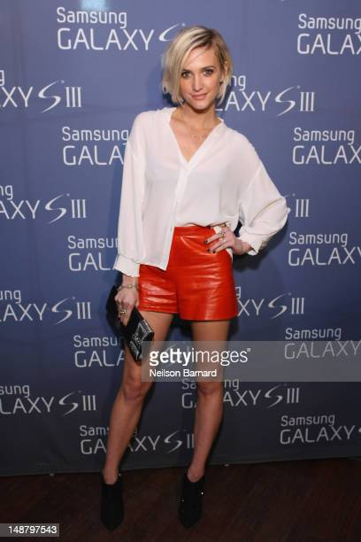 Ashlee Simpson hosts the Samsung Galaxy S III event on July 19 2012 in New York City