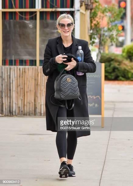 Ashlee Simpson is seen on January 03 2018 in Los Angeles California