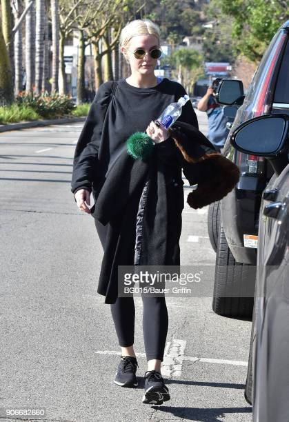 Ashlee Simpson is seen on January 18 2018 in Los Angeles California