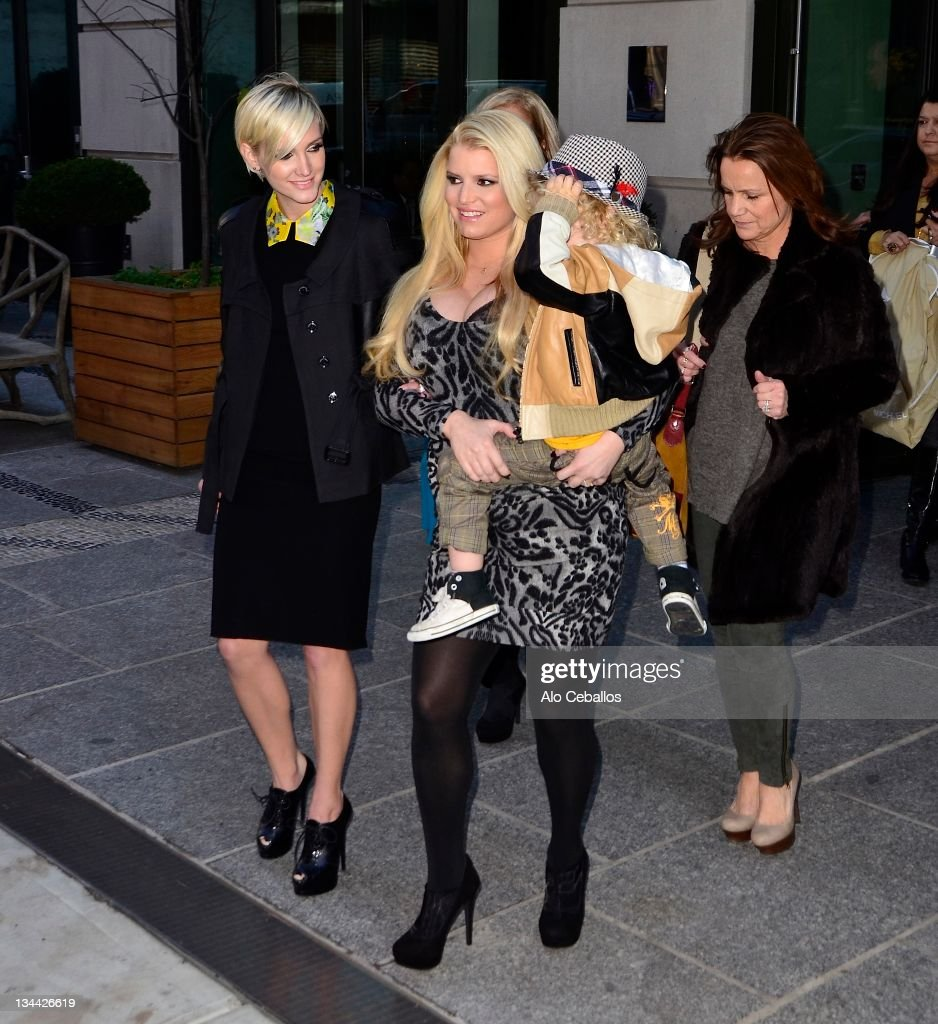 Celebrity Sightings In New York City - December 1, 2011