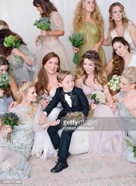 Ashlee Simpson, Tina Simpson, Bronx Mowgli Wentz and Lauren Zelman Harrison attend the wedding of Jessica Simpson and Eric Johnson at San Ysidro...