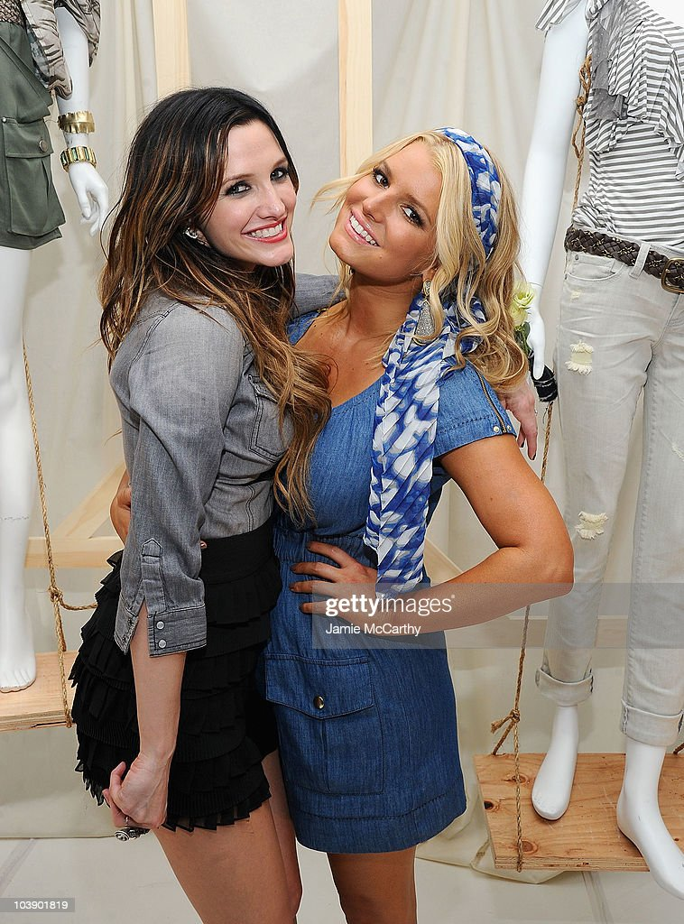 "Jessica Simpson Collection ""Show Me Your Blues"" Jeanswear Launch Event"