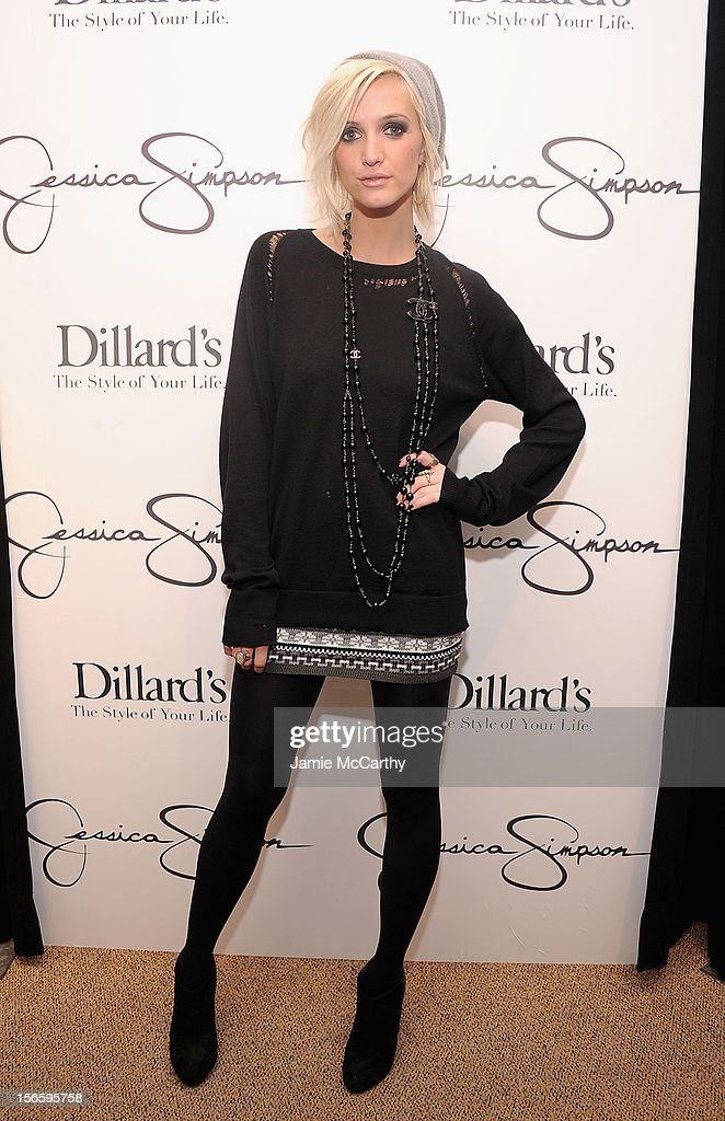 Ashlee Simpsonn visits Dillard's at International Plaza In Support Of the Jessica Simpson Collection on November 17, 2012 in Tampa, Florida.